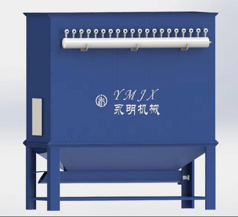 Dmс-160 type pulsed jet cloth filter