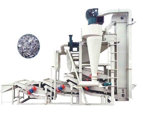KTF4-2800 Sunflower seed hulling & separating machine